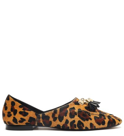 Mocassim Animal Print Barbicacho Maria