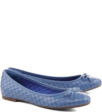 Sapatilha Verniz Azul