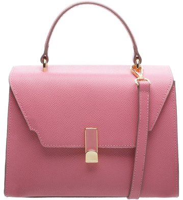 Bolsa Couro Lady Satchel Cléo Bubble Pink