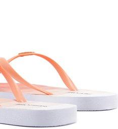 PANTONE | Chinelo Rasteiro Pallete Laranja Fresh Peach