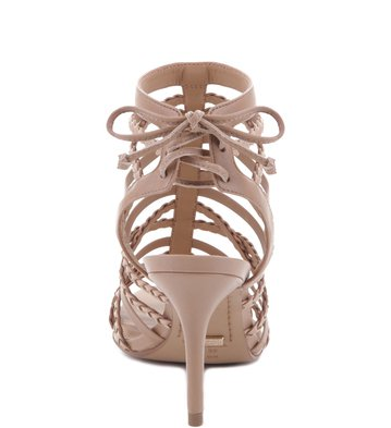 Sandália Lace Up Glam Pelle
