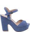 Sandália Suede Meia Pata Savannah Blue Bird