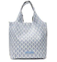 Bolsa Shopping Azul Multimaterial Grande ZZ Bio