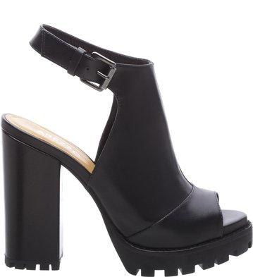 Sandal Boot Couro Fall Tratorada