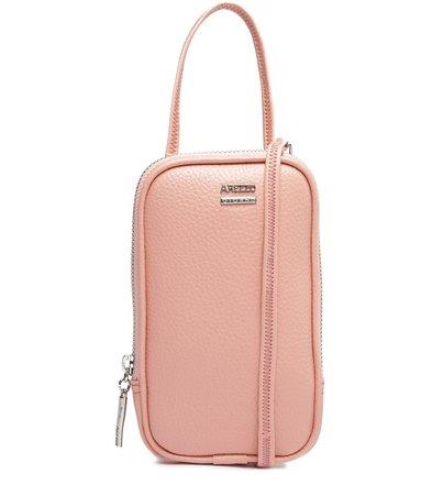 Bolsa Tiracolo Rosa Valentina Pequena Rosé Glam