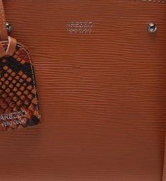 Bolsa Tote Couro Pequena Orange Ocre