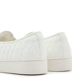Tênis Slip On Branco Sola Alta Matelassê Bianco