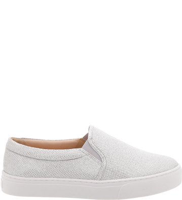 Slip-on AZ Lurex Prata