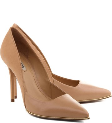 Scarpin Mix Glam Pelle