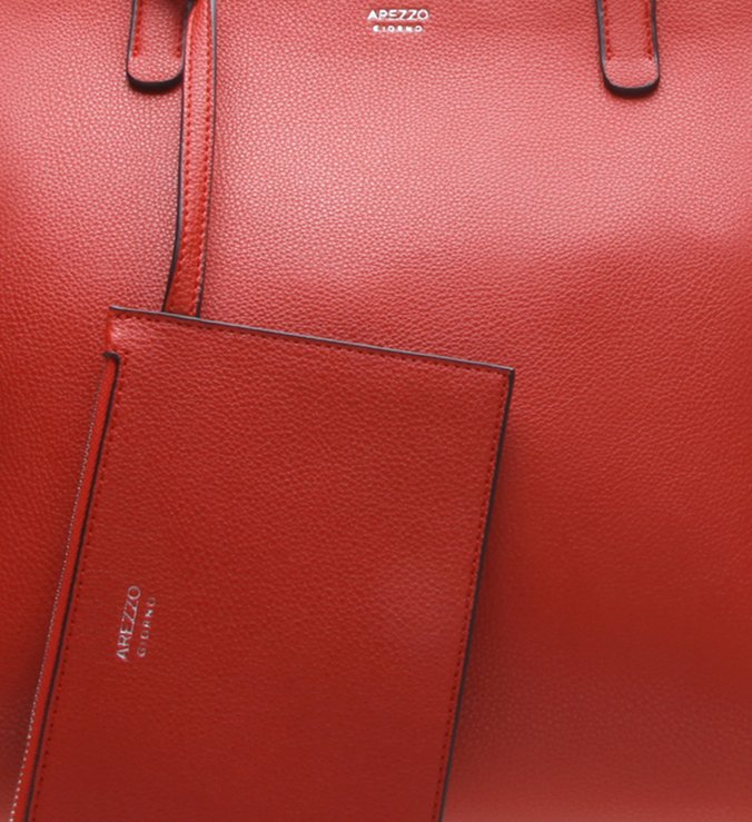 Bolsa Shopping Grande Royal Red
