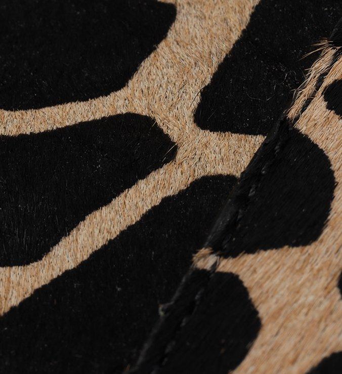 Bolsa Shopping Animal Print Pelo Fio Grande