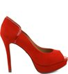 Scarpin Peep Toe Balada Scarlet
