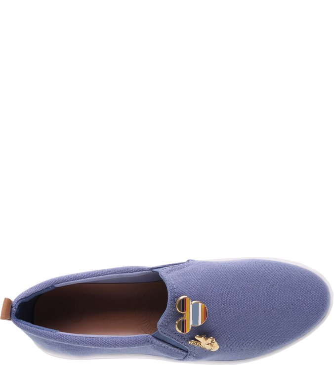 Disney | Tênis Slip-on Pins Azul Jeans
