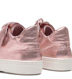 Tênis ZZ Joy Rosa Couro Pink Shine