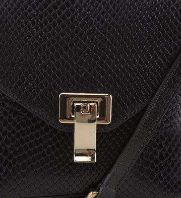 Mini Bag Snake Preta