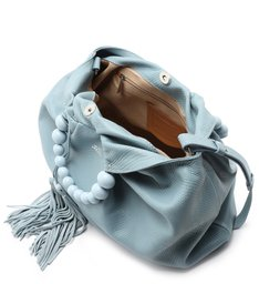 Bolsa Bucket Azul Snake Poliana Grande New Cielo