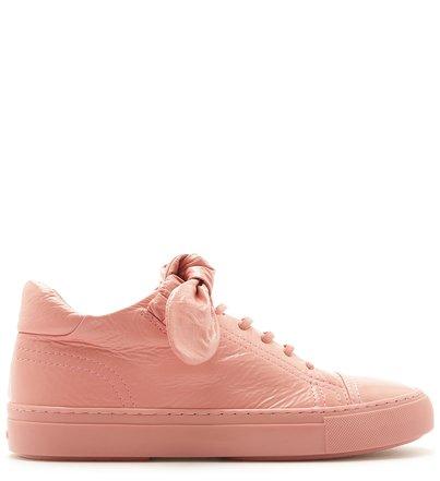 Tênis ZZ Joy Couro Flower Pink