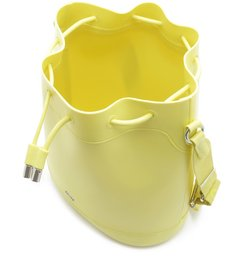 PANTONE   Bolsa Bucket Média Amarela Fosca