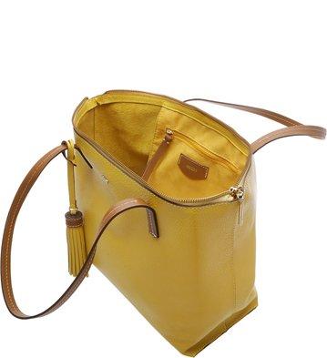 Bolsa Shopping Giornata New-Mostarda