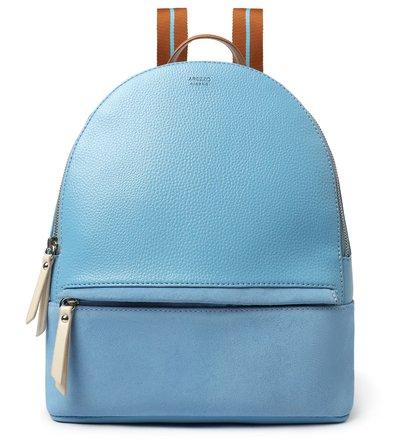 Mochila Azul Prione Grande Colorida