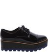 Oxford Plataforma Preto Color Line Blue