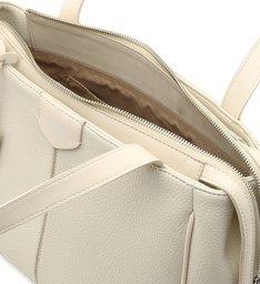 Bolsa Hobo Branca Grande Off-White