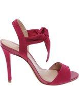Sandália Nobuck Alta Top Knoted Pink