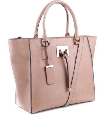 Bolsa Shopping Clarice Pelle