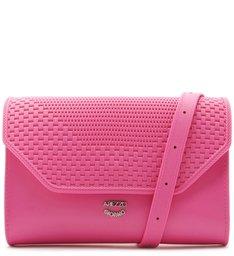 Bolsa Tiracolo Vinil Pequena Summer Pink