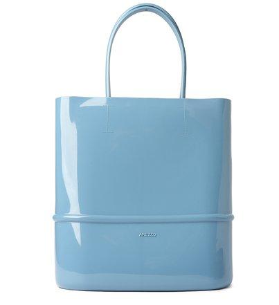 Bolsa Shopping Azul Tina Grande Brizza