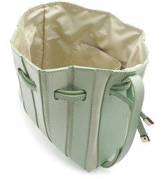 Bolsa Bucket Camurcina Pequena Verde