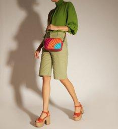 [PRÉ VENDA] Bolsa Tiracolo Multicolorida Elisa Pequena