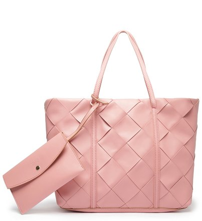 Bolsa Shopping Rosa Tressê Erica Grande