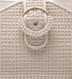 Clutch Pequena Lola Off White