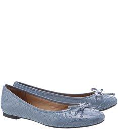 Sapatilha Vintage Blue Matelassê