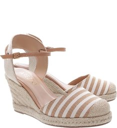 Espadrille Basic Suede Natural