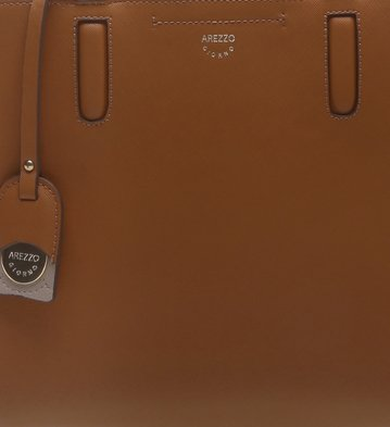 Bolsa Shopping Kyara Camel
