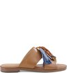Rasteira Boho Fresh Multi-Blue