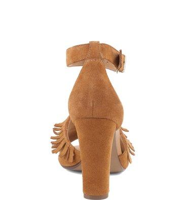 Sandalia Franjas Camel