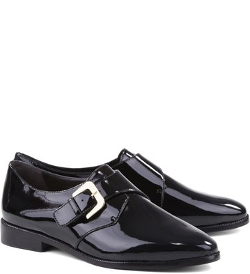 Oxfords Verniz Preto