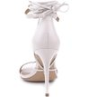 Sandália Isabelli Lace Up Off-White
