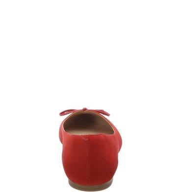 Sapatilha Nobuck Bico Fino Vintage Batom Rouge