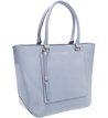Bolsa Shopping Luminosa Crystal Blue