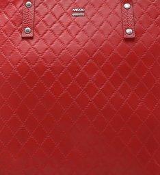 Bolsa Shopping New Matelassê Aline Grande Lust Red