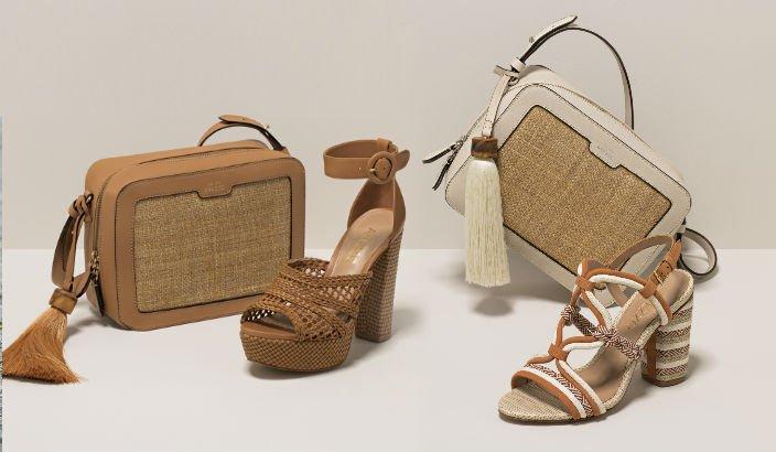 6d958dab0 Ainda, espadrilles, flats e sapatilhas complementam a coleção que conta com  opções de bolsas que seguem o mesmo mood artesanal.