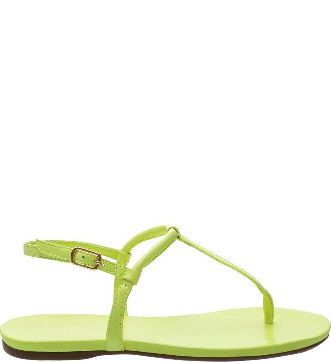 9610893761 Rasteira Basics Lime Neon