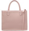 Bolsa Couro Tote Eolie Rose Mist