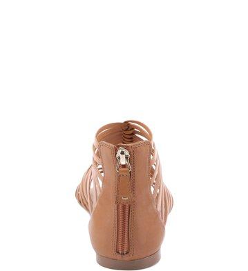 Rasteira Tirinhas Camel