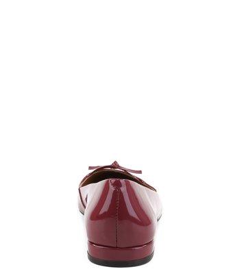 Sapatilha Verniz Wine