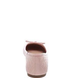 Sapatilha Verniz Matelassê Sugar Pink